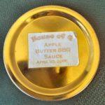 Apple Butter BBQ Sauce Jar Lid 2006