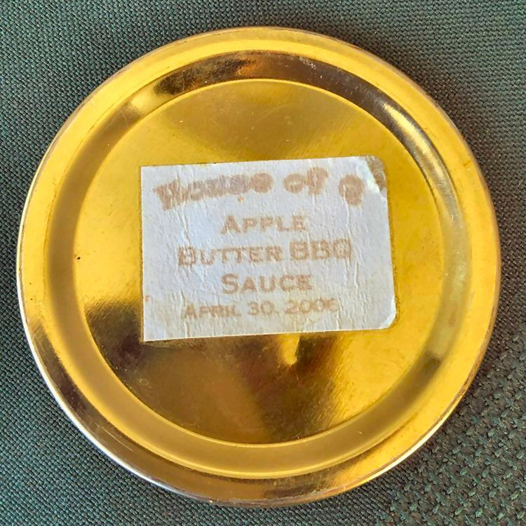 BBQ Brian Makes Apple Butter BBQ Sauce