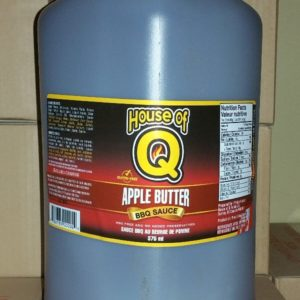 Apple Butter BBQ Sauce gallon