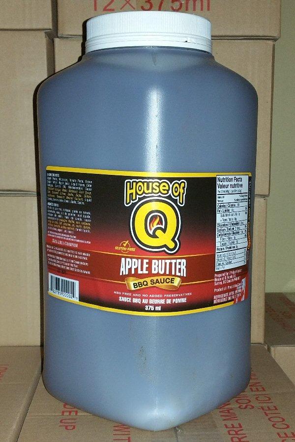 Apple Butter BBQ Sauce gallon