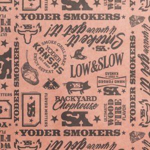 Yoder Smoker – Butcher Paper
