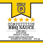 Five Star Competition BBQ Sauce