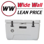 Lerpin 70QT Wide Wall Cooler with Thermometer
