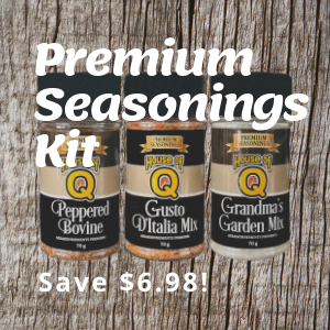 Premium BBQ Seasonings kit