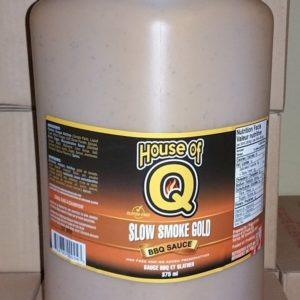 Slow Smoke Gold BBQ Sauce SSG-gallon