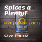 BBQ Spice a Plenty Kit SAVE $10.46